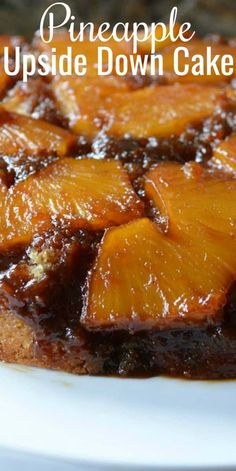 Pineapple Upside Down Cake recipe from scratch using fresh pineapple is a favorite dessert recipe from Serena Bakes Simply From Scratch. Dessert From Scratch, Cake Recipes From Scratch, Easy Cake Recipes, Best Dessert Recipes, Fun Desserts, Baking Recipes, Birthday Desserts, Holiday Recipes, Pineapple Upside Down Cake From Scratch