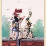 MORNING DRESSES, June 1794 from Gallery of Fashion vol 1