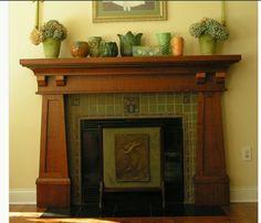 Arts & Crafts   Bungalow   Fireplace   Verdant Tile Installations ...