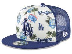 3e2242233d7 Los Angeles Dodgers New Era MLB Aloha Trucker 9FIFTY Snapback Cap