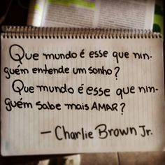 Longe de você - Charlie Brown Jr.