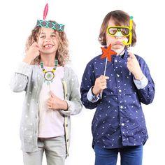 Doplňky na party Photobooth Kids | Bonami