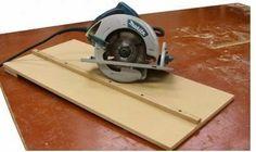 Ah! E se falando em madeira...: corte certo circular manual Mais
