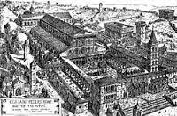 Róma St. Pietro bontás előtt