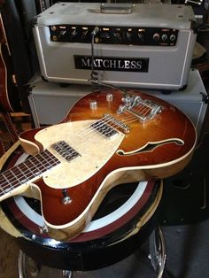 guitarbage:  Koll Glide & a Matchless Amp