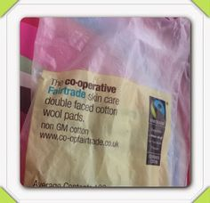 The co-operative Fairtrade skin care double faced cotton wool pads