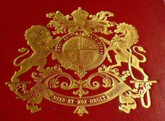 #gold #heraldry #lion #unicorn What else needs to be noted?