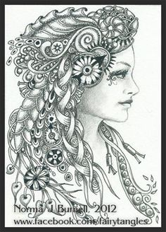 Zentangle - Doodles (By Norma Burnell 2012):