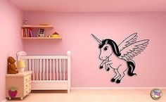 Wall Sticker Cute Baby Elephant on A Serfing Board Decor for Nursery Room Unique Gift Unicorn Wings, Baby Unicorn, Wall Stickers Unicorn, Wall Decals, Vinyl Decals, Cute Baby Elephant, Nursery Room, Baby Kids, Unique Gifts