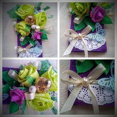 "Decorated chocolate ""Purple haze"" by GiftsElenaDanilova on Etsy"