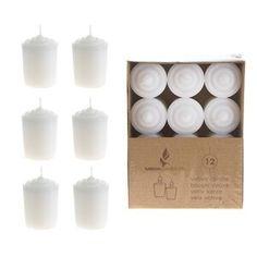 "Ophelia & Co. 6 Piece 5.5"" Glass Tabletop Lantern & Reviews   Wayfair Scented Tea Lights, Scented Pillar Candles, Floating Candles, White Candles, Tea Light Candles, Candle Set, Candle Jars, Rose Candle, Candle Holders"