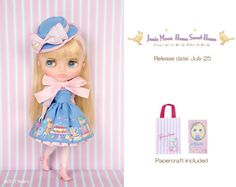 Pre-order-Neo-blythe-doll-Junie-Moon-Home-Sweet-Home