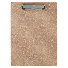 Brushed Rose Gold Clipboard