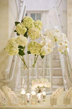 Floral: Jackson Durham #jacksondurham #weddingfloral #TheGeorgianTerrace #whitewedding