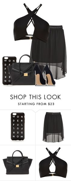 """""""Untitled #1231"""" by thebabybuu on Polyvore featuring J.Crew, Forever 21, River Island, Casadei, women's clothing, women, female, woman, misses and juniors"""