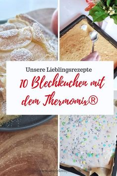 Here are 10 quick and easy sheet cake recipes for the Thermomix®️️. Bake cake with the Thermomix® for every occasion. Here are 10 quick and easy sheet cake recipes for the Thermomix®️️. Bake cake with the Thermomix® for every occasion. Sheet Cake Recipes, Cupcake Recipes, Sheet Cakes, Appetizer Recipes, Snack Recipes, Potato Recipes, Quick Healthy Snacks, Pumpkin Spice Cupcakes, Food Cakes
