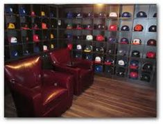 6 Awesome Sports Themed Man Caves mancave sport decor Man