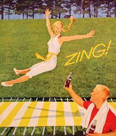Coca Cola advertisement, 1961
