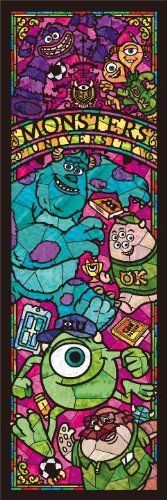Disney 456 Stained Piece Monsters University Stained Glas...