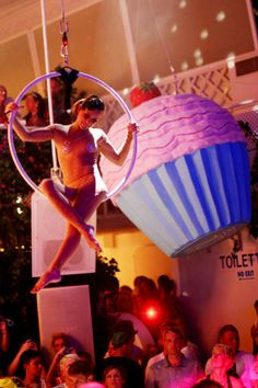A giant cupcake produced for Hedkandi Ibiza #nightclub #events