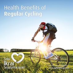 HEALTH BENEFITS OF REGULAR CYCLING  Cycling is mainly an aerobic activity, which means that your heart, blood vessels and lungs all get a workout.  The health benefits of regular cycling include:  • Increased cardiovascular fitness • Increased muscle strength and flexibility • Improved joint mobility • Decreased stress levels • Improved posture and coordination • Strengthened bones • Decreased body fat levels • Prevention or management of disease • Reduced anxiety and depression.