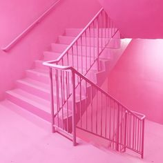 Rooftop bar Frank's Cafe in Peckham is reopening tonight (and there's an amazing pink staircase! Photo Wall Collage, Picture Wall, Pink Locations, Pink Bar, Pink Wallpaper Iphone, Pink Photo, Everything Pink, Pink Walls, Pastel Pink