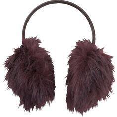 UNIQLO Faux Fur Ear Warmer ($12) ❤ liked on Polyvore featuring accessories, faux fur earmuffs and uniqlo