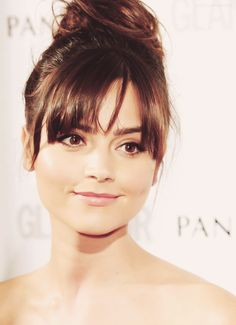 Jenna Coleman cannot possibly be of this planet; too damn fine