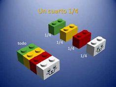 YouTube Multiplication, Math Fractions, Legos, Usb Flash Drive, Games, Youtube, Lego Math, Play Based Learning, Lego Pieces
