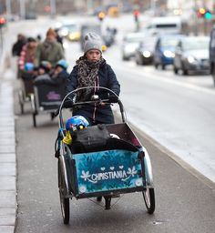 I hope main streets in Helsinki will look like this during the rush hour. Soon they will.