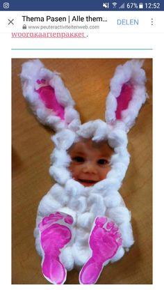 40 Simple Easter Crafts for Kids - Crafts Journal Easy Easter Crafts, Daycare Crafts, Easter Art, Hoppy Easter, Easter Crafts For Kids, Baby Crafts, Toddler Crafts, Preschool Crafts, Easter Bunny