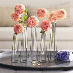 We love flowers and the beauty they convey to the place they are put in. For the readers that share this passion, we have selected 25 Easy DIY Test Tube Vase Crafts Ideas. Yes, you read right, test tubes can be used to craft beautiful, elegant and stylish