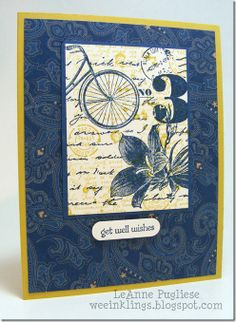 Postage Due with DSP stack from Spring/Summer 2013 Bicycle Cards, Fathers Day Cards, Get Well Cards, Sympathy Cards, Scrapbook Cards, Scrapbooking, Masculine Cards, Card Tags, Paper Cards