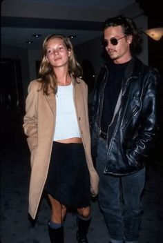 Camel coat (doesn't hurt to have a side of Johnny Depp)