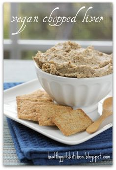 Vegan Pate- Plant-Based Nutritarian Weight Loss Recipe Blog