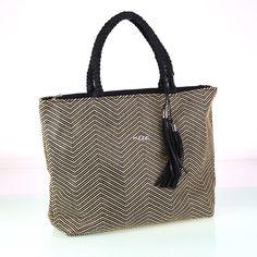 Dámska bavlnená taška Kbas vzorovaná so strapcami Tote Bag, Bags, Fashion, Handbags, Moda, Fashion Styles, Carry Bag, Taschen, Tote Bags