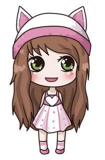 easy to draw kawaii people Kawaii Disney, Kawaii Anime, Arte Do Kawaii, Cute Anime Chibi, Kawaii Art, Easy Chibi Drawings, Kawaii Girl Drawings, Cute Girl Drawing, Cute Drawings