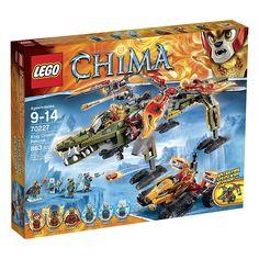 Billedresultat for lego chima king crominus rescue