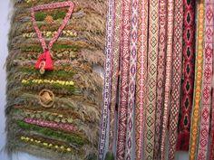травы и ткачество