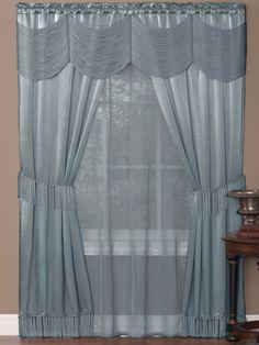 Halley Window in a Bag Drape Panels