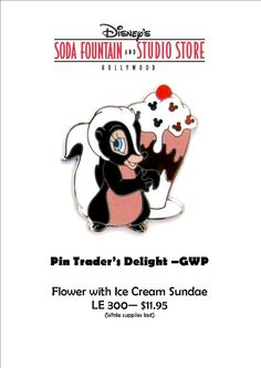 DSF Pin Trader's Delight Pin - Flower