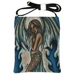"""""""Tempest of Ice"""" Shoulder Sling Bag via ArtsNow.com"""