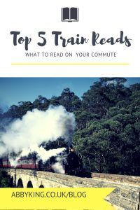 5 books about journeys that are perfect for reading on train journeys! Pin now, read later >>