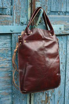Leather bag, handmade, Handbag, Hand Made, Unusual, Unique by clothesNavaho on Etsy