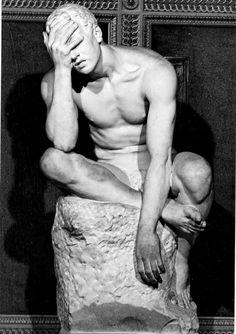 europeansculpture: Emilio Gallori (1846-1924) - The Pain
