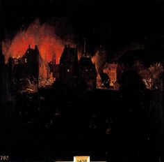 Pieter Bruegel the Younger >> Burning and looting of a population