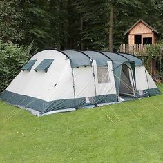 #Skandika hurricane 12 person/man xl #camping tunnel #family tent group green new, View more on the LINK: http://www.zeppy.io/product/gb/2/301970726473/