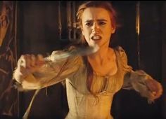 a girl with a knife is always to be feared more than a man with a sword