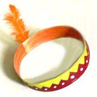 Indianerstirnband basteln (auch für Fasching)