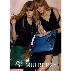 Mulberry Ad Campaign Spring/Summer 2008 Shot #2 ❤ liked on Polyvore
